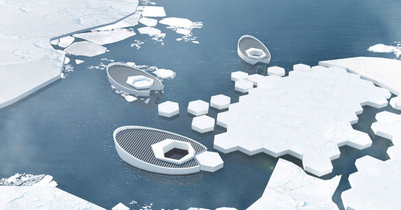 Ice-making submarines could fight climate change by refreezing the Arctic