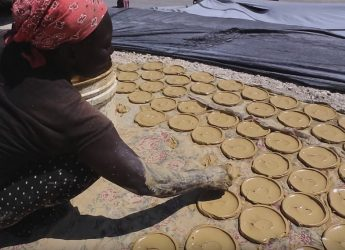 People in Haiti are forced to eat 'mud cookies' to survive