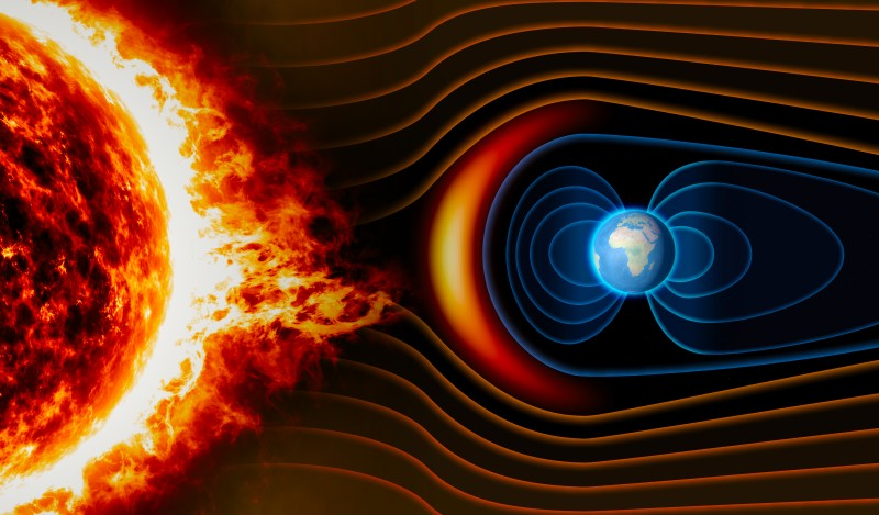 The Sun produced a shockwave that shook the entire solar system