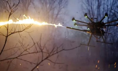 Flamethrower drones are now a thing and you can have one