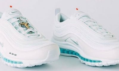 """A Brooklyn designer filled Nike sneakers with holy water and is selling them as """"Jesus Shoes"""""""