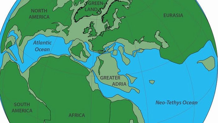 A lost continent has been discovered, buried beneath Europe