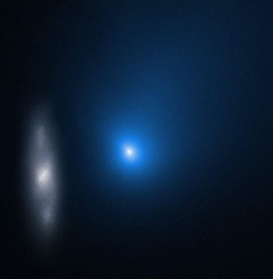 NASA released new image of the second interstellar object in our solar system