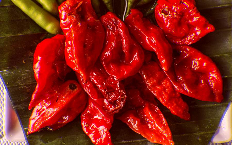 A man suffered a ruptured esophagus after consuming ghost peppers