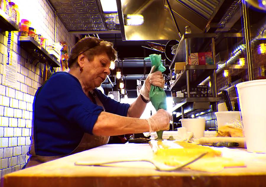 A restaurant in NYC hires grandmothers to cook from their native cuisine