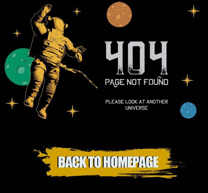 astronaut 404 not found