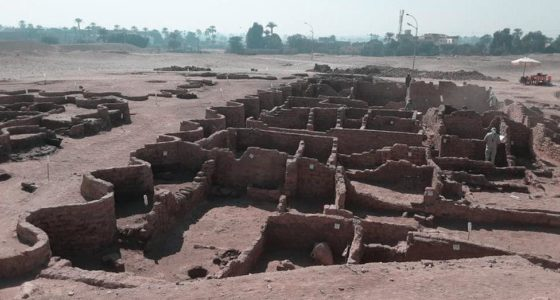 The lost golden city of Luxor